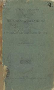Outline grammar of the angami naga language:A vocabulary and ...