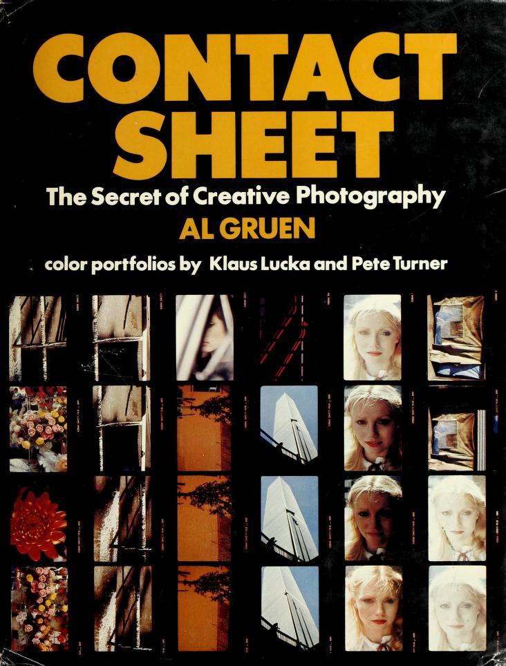 Contact sheet by Al Gruen