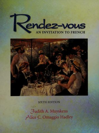 Cover of: Rendez-vous | Judith A. Muyskens