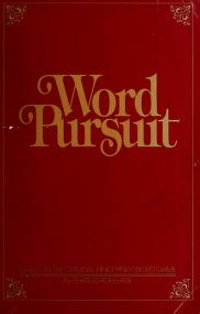 Cover of: Word pursuit | Charles Kohlhase